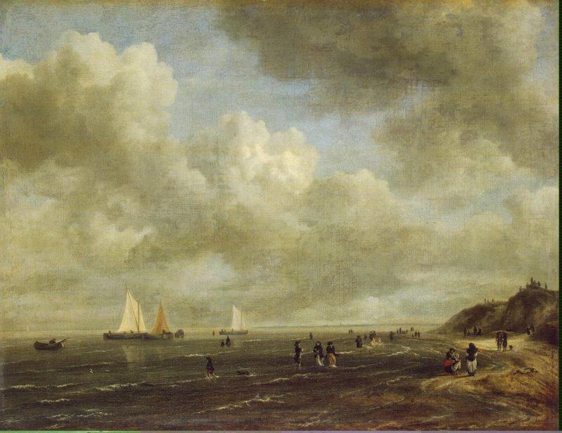 Seashore   Ruisdael Jacob Isaaksz van   oil painting
