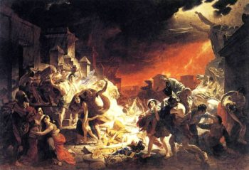 The Last Day of Pompeii 1830 1833 | Karl Brulloff | oil painting