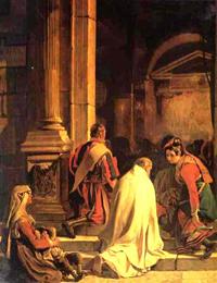 Vespers 1825 | Karl Brulloff | oil painting