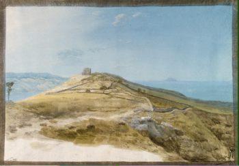 Ruins of the Ancient City of Tindari | Houel Jean-Pierre-Laurent | oil painting