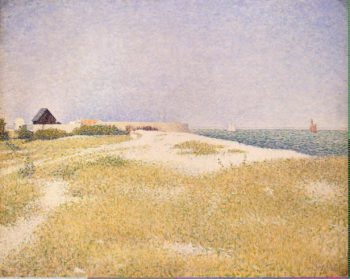 View of Fort Samson | Seurat Georges-Pierre | oil painting