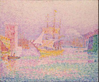 Harbour at Marseilles | Signac Paul | oil painting