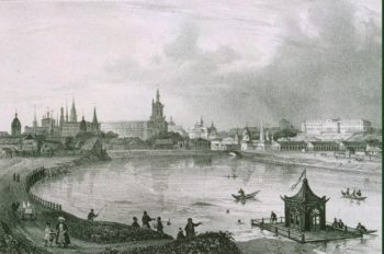 View of Kazan from the South | Jacottet Louis Julienn | oil painting