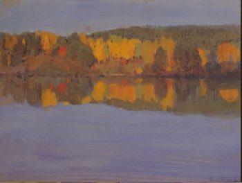 Autumn Landscape. River | Jarnefelt Eero Nicolai | oil painting