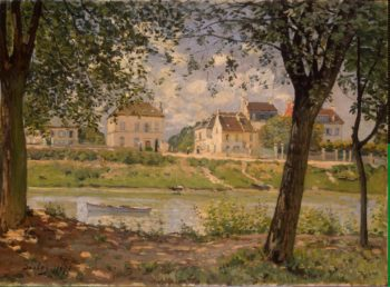 Villeneuve-la-Garenne (Village on the Seine) | Sisley Alfred | oil painting