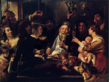 Bean King | Jordaens Jacob | oil painting