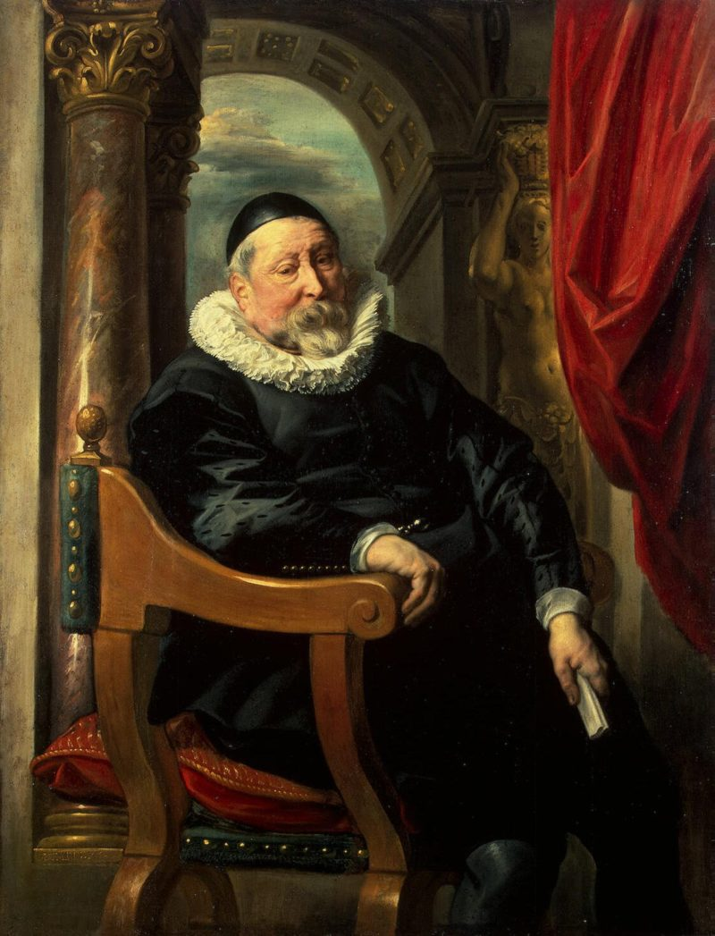 Portrait of an Old Man | Jordaens Jacob | oil painting