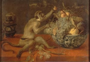 Still Life with a Monkey | Snyders Frans | oil painting