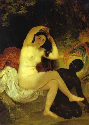 Bathsheba | Karl Briullov | oil painting