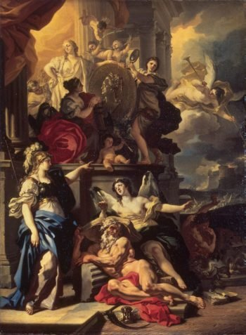 Allegory of Rule | Solimena Francesco | oil painting