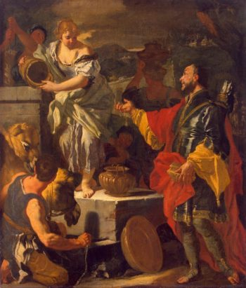 Rebecca at the Well | Solimena Francesco | oil painting