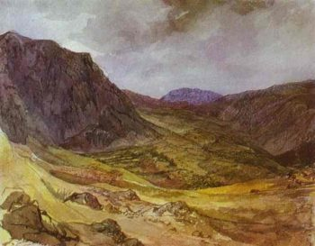Delphi Valley | Karl Briullov | oil painting