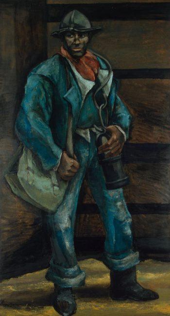 Miner | Somville Roger | oil painting