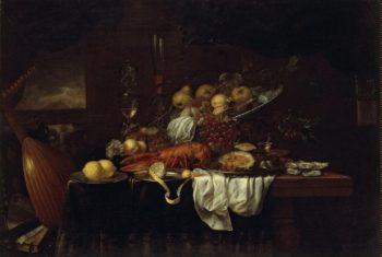 The Larmentation with a Garland of Fruit   Son Joris van   oil painting