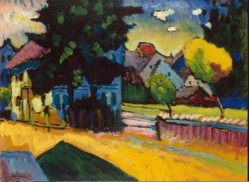 View of Murnau | Kandinsky Vasily | oil painting