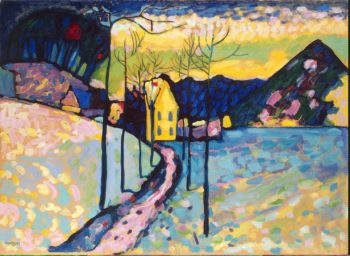 Winter Landscape | Kandinsky Vasily | oil painting
