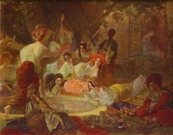 Fountain in Bakhchi Sarai a | Karl Briullov | oil painting