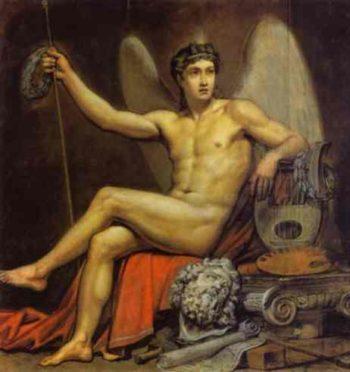 Genius of Art | Karl Briullov | oil painting