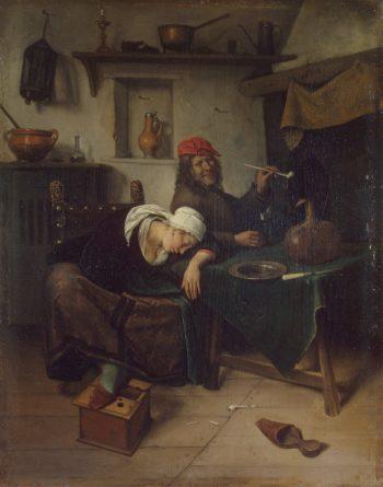 Idlers | Steen Jan | oil painting