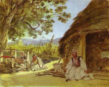 Greek Morning in Myraca | Karl Briullov | oil painting