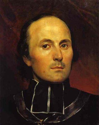 Head of an Abbot | Karl Briullov | oil painting