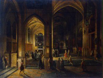 Interior of a Gothic Church   Steenwyck Hendrick van II   oil painting
