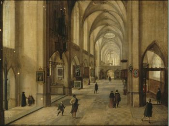 Interior of a Gothic Church | Steenwyck Hendrick van II | oil painting