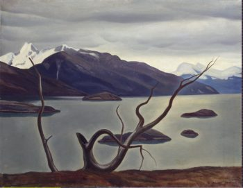 Admiralty Sound Tierra del Fuego | Kent Rockwell | oil painting