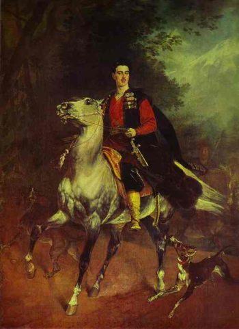 Portrait of A N Demidov Prince of San Donato | Karl Briullov | oil painting