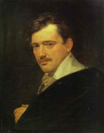 Portrait of A N Lvov | Karl Briullov | oil painting