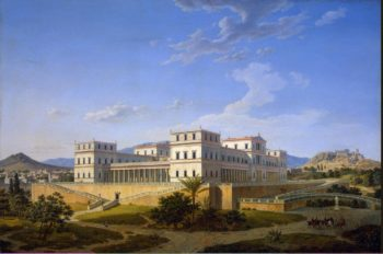Palace in Athens | Klenze Leo von | oil painting
