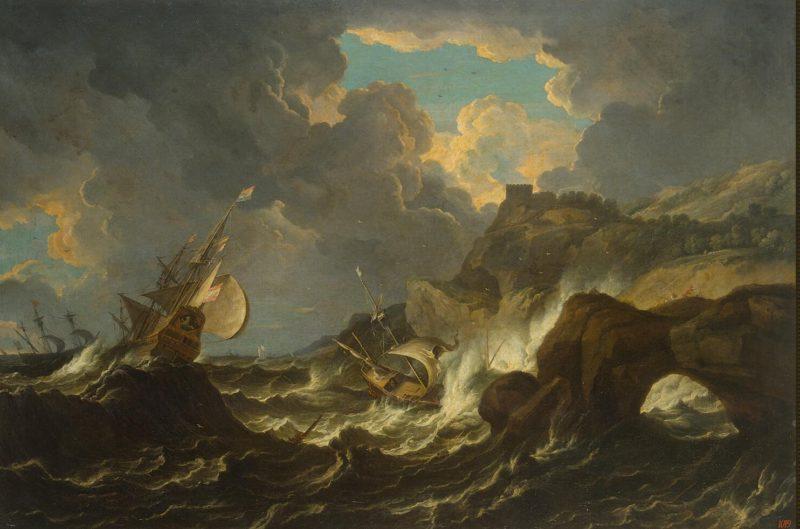 Storm in the Sea | Tempesta Pietro (Pieter Mulier) | oil painting