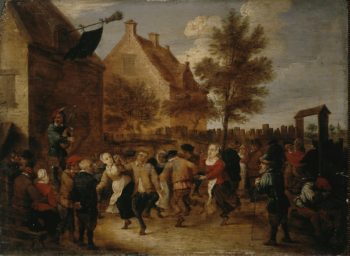 Rural Feast | Teniers Abraham | oil painting