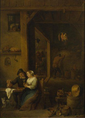 Scene in a Tavern | Teniers David II (circle) | oil painting
