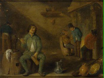 Smoker | Teniers David II (circle) | oil painting