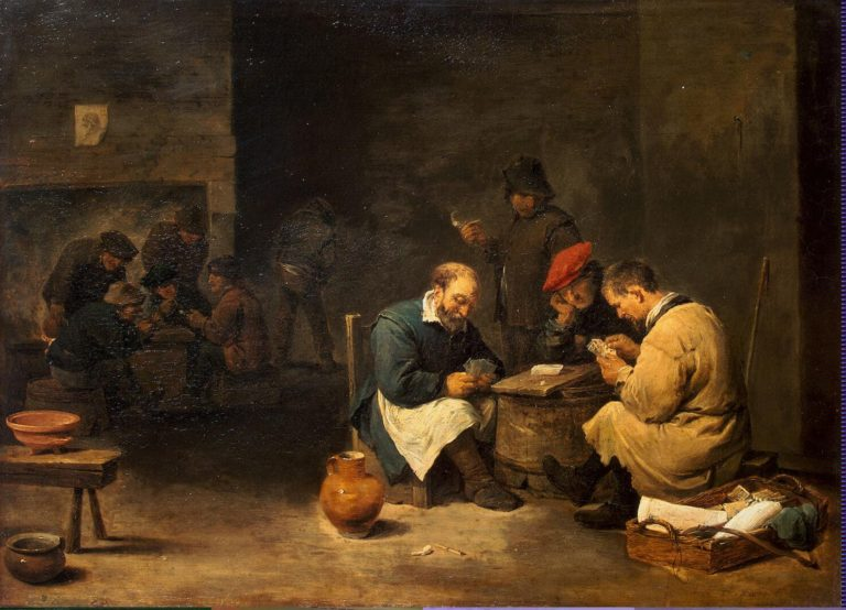 Card Players | Teniers David II | oil painting
