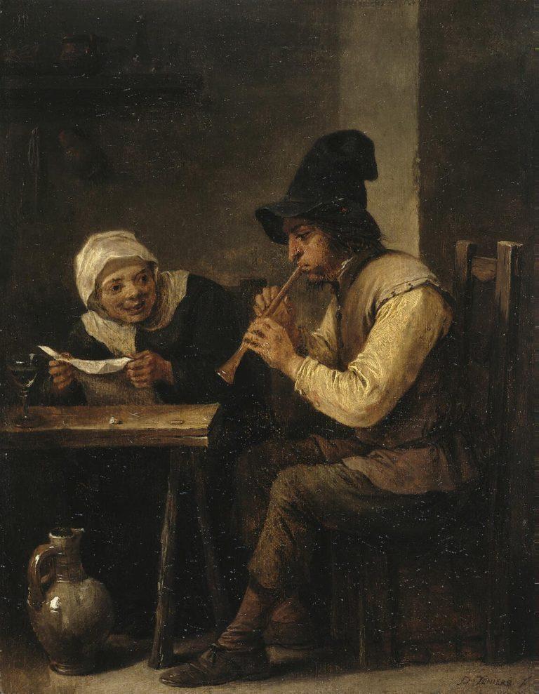 Duet | Teniers David II | oil painting