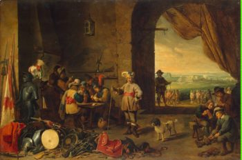 Guardroom | Teniers David II | oil painting