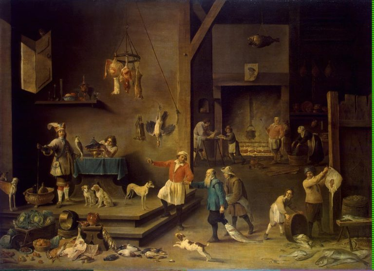 Kitchen | Teniers David II | oil painting