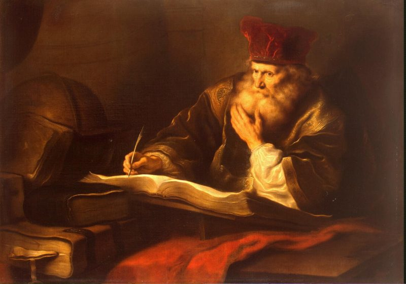 An Old Scholar | Koninck Salomon | oil painting
