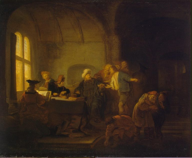 Parable of the Workers in the Vineyard | Koninck Salomon | oil painting