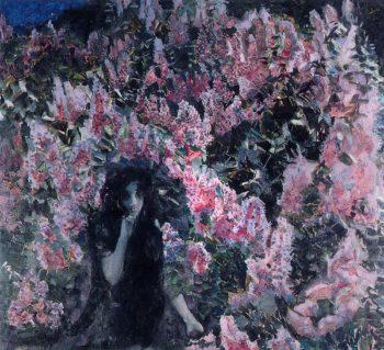 Lilacs | Mikhail Vrubel | oil painting