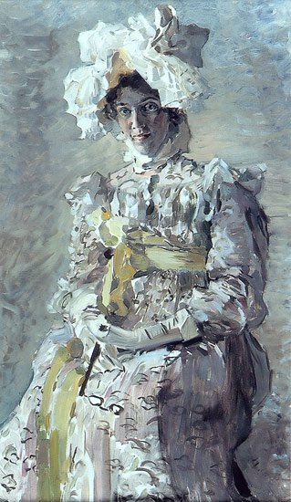 Portrait of Nadezhda Zabela Vrubel | Mikhail Vrubel | oil painting