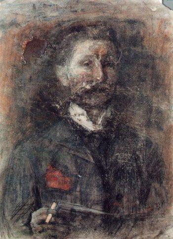 Self Portrait   Mikhail Vrubel   oil painting