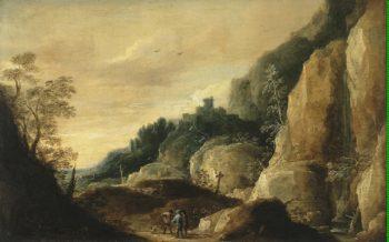 Mountainous Landscape | Teniers David II | oil painting