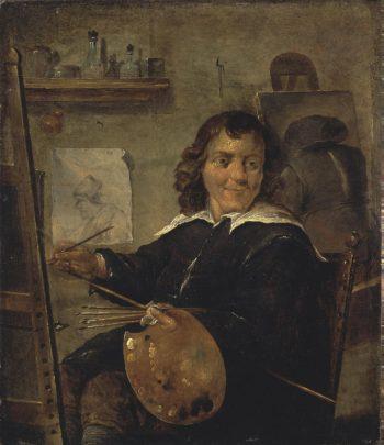 Painter in his Studio | Teniers David II | oil painting