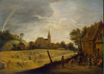 Reaping | Teniers David II | oil painting