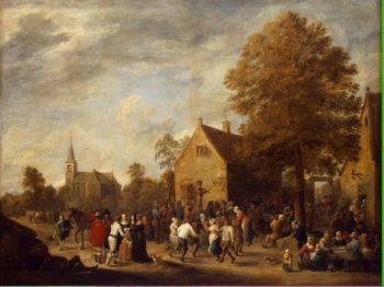 Rural Feast | Teniers David II | oil painting