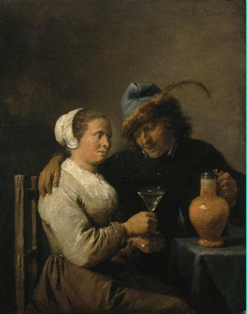 Scene in a Tavern | Teniers David II | oil painting