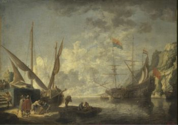 Sea Harbour | Teniers David II | oil painting